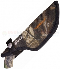 Buck 0393-15-CM Omni Hunter, Camo Nylon Sheath
