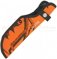 Buck 0393-15-CM9 Omni Hunter, Blaze Camo Nylon Sheath