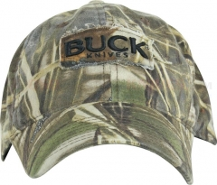 Buck 89052 Max-4 Advantage Camo Buck Logo Cap