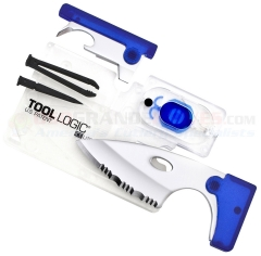 Tool Logic ICC2B-T ICE Companion w/ LED Lite, Clear/Blue, Tin
