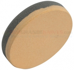 Woodmans Pal Round Dual Grit Honing Stone for Axes-Machetes (2.87 Inch Diameter Electro-Silicon Carbide Stone) WP220