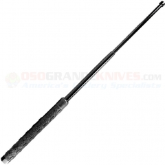 Smith & Wesson Tactical Baton (21 Inch) Thermoplastic Polyester Elastomer Handle + Black Denier Hard Case Sheath BAT21H