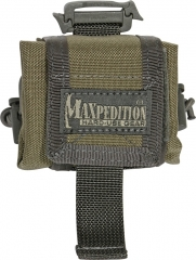 MaxPedition 207KF Mini Rollypoly, Khaki/Foliage Green