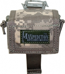 MaxPedition 208DFC Rollypoly Dump Pouch, Digital Foliage Camo