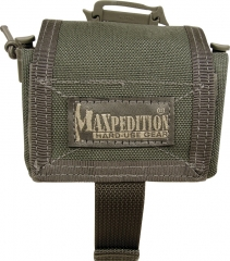 MaxPedition 208FG Rollypoly Dump Pouch, Foliage Green