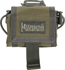 MaxPedition 208KF Rollypoly Dump Pouch, Khaki/Foliage Green