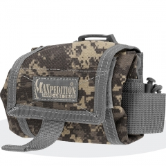 MaxPedition 209DFC Mega Rollypoly Large Folding Utility Pouch, Digital Foliage Camo