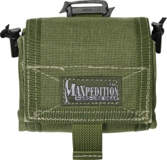 MaxPedition 209G Mega Rollypoly Large Folding Utility Pouch, OD Green