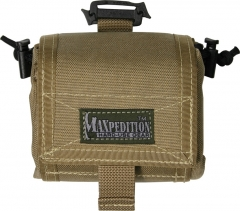 MaxPedition 209K Mega Rollypoly Large Folding Utility Pouch, Khaki