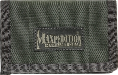 MaxPedition 218F Micro Wallet, Foliage Green