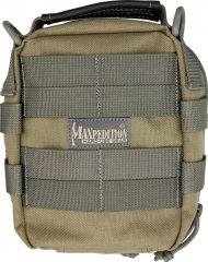 MaxPedition 226KF FR-1 Combat Medical Pouch, Khaki/Foliage Green
