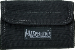 MaxPedition 229B Spartan Wallet, Black