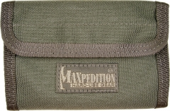 MaxPedition 229F Spartan Wallet, Foliage Green