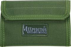 MaxPedition 229G Spartan Wallet, OD Green