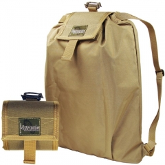 MaxPedition Rollypoly Folding BackPack (Ultralight 8 oz. Weight) Khaki 230K