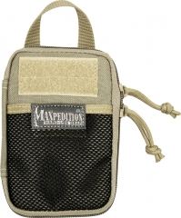 MaxPedition 259K Mini Pocket Organizer, Khaki