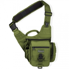 MaxPedition 408G S-Type FatBoy Versipack, Left Handed Version for Weak Side Carry, Green