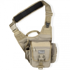 MaxPedition 408K S-Type FatBoy Versipack, Left Handed Version for Weak Side Carry, Khaki