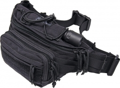 MaxPedition 455B OCTA Versipack Waist Bag, Black