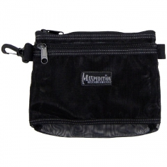 MaxPedition 809BM Moire Pouch 8x6, Black Mesh