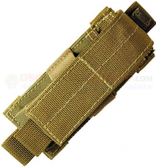 MaxPedition Single Sheath (Fits Large Folding Knife-Multitool-Magazine) Khaki 1411K