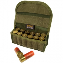MaxPedition 1434G 12 Round Shotgun Ammo Pouch, OD Green