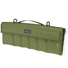 MaxPedition Dodecapod 12-Knife Carry Case (18 x 6.5 x 2 Inches Thick) OD Green w/ Shoulder Strap 1461G