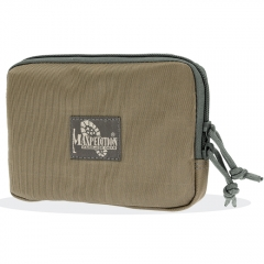 MaxPedition 3525KF Hook And Loop Zipper Pocket 5x7, Khaki-Foliage
