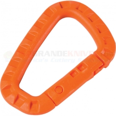 MaxPedition TACLINKO Tac-Link Polymer Carabiner, Orange