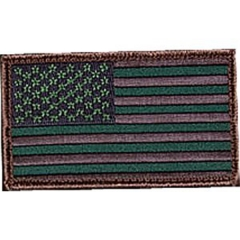 MaxPedition USFLAG2G US Flag Patch, OD Green