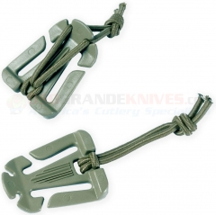 MaxPedition WEBDOM-F Web Dominator 1 Inch Clip, Foliage Green