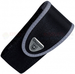 Victorinox Swiss Army VN33248 Large Pocketknife Belt Pouch, Black Nylon