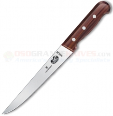 Victorinox 40034 Flank & Shoulder Knife (8 Inch Stiff High Carbon Stainless Blade) Rosewood Handle