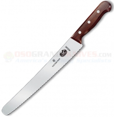 Victorinox 40040 Bakers Bread & Cake Knife (10.25 Inch Wavy Edge Blade) Rosewood Handle