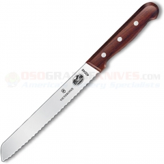 Victorinox 40048 Bread Knife (7 Inch Wavy High Carbon Stainless Blade) Rosewood Handle