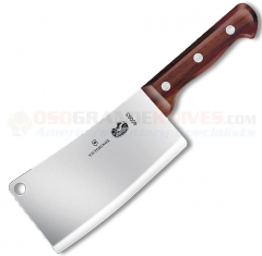 Victorinox 40093 Restaurant Cleaver Knife (7x3.5 Inch High Carbon Stainless Blade 1.5 lbs.) Rosewood Handle