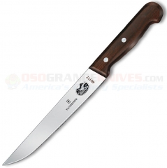 Victorinox 40117 Fillet Knife (7 Inch Straight High Carbon Stainless Blade) Rosewood Handle