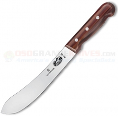 Victorinox 40135 Butcher Knife (8 Inch Straight High Carbon Stainless Blade) Rosewood Handle