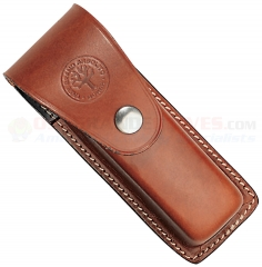 Boker 090046 Leather Optima Sheath (with Pockets for Assorted Optima Blades)