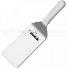 Victorinox 40439 Grill Turner Spatula (4x8 Inch High Carbon Stainless Steel Turner) White Polypropylene Handle 7.6259.15