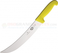 Victorinox 40475 Cimeter Knife Yellow (10 Inch Curved High Carbon Stainless Steel Blade) Yellow Fibrox Handle