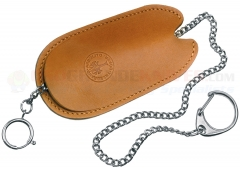 Boker 090182 Leather Slip Sheath & Chain for Camp Knife 111869 and 110182HH