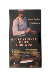 Boker 09JB1 John Bailey Recreational Knife Throwing Video, Basic Techniques