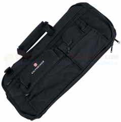 Victorinox 44953 Executive Knife Storage Case (Holds 12 Knives up to 12 Inches Long) Black Polyester with PVC Lining