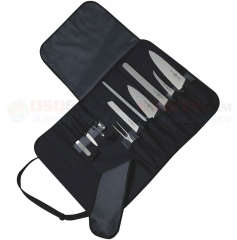 Victorinox 46035 Culinary Set (12-Piece Fibrox Handles) with 44902 Canvas Case
