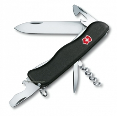 Victorinox Swiss Army Nomad Multi-Tool Knife (4.37 Inches Closed) Black Handle 50834
