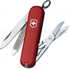 Victorinox Swiss Army Classic SD Multi-Tool Key-Ring Knife (58mm 2.25 Inches Closed) Red Handle 53001