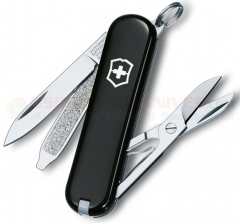 Victorinox Swiss Army Classic SD Multi-Tool Key-Ring Knife (58mm 2.25 Inches Closed) Black Handle 53003