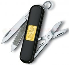 Victorinox Swiss Army Classic SD Multi-Tool Key-Ring Knife (58mm 2.25 Inches Closed) Gold Ingot 53013