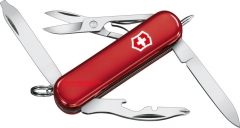 Victorinox Swiss Army 53751 Midnite Manager Red